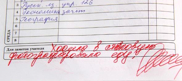 Смешные записи в школьных дневниках 6